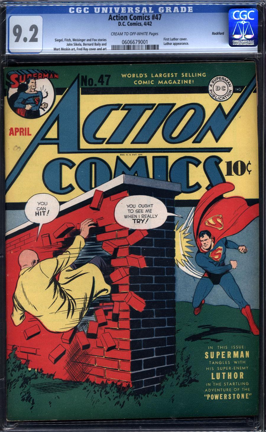 #730 February 1997 DC NM 9.2 Action Comics 1938 Series
