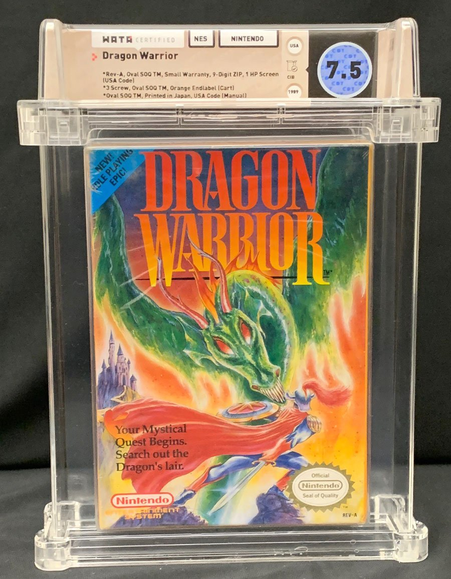 Comicconnect Dragon Warrior Nes 0 Wata Vf 7 5