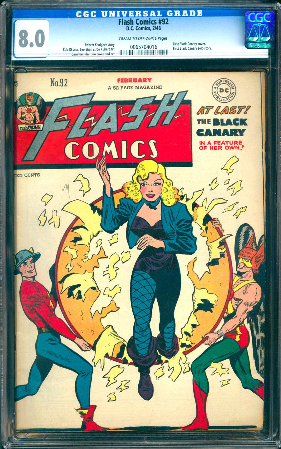 Comicconnect Flash Comics 1940 49 92 Cgc Vf 8 0